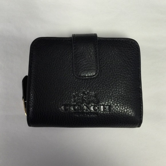 9b050b1214 best price coach holiday buckle in signature large black wallets bry 91765  e6940  where can i buy coach medium zip around wallet black cbb49 db7d2