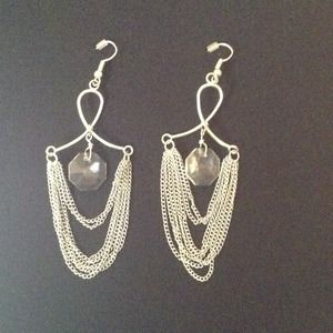 Jewelry - Loop Chandelier Earrings