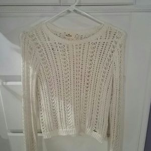 Shimmery Hollister Sweater