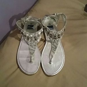 Shoes - Blinged Out Sandals