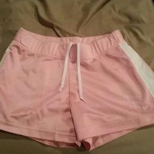 Nike Pink Mesh shorts