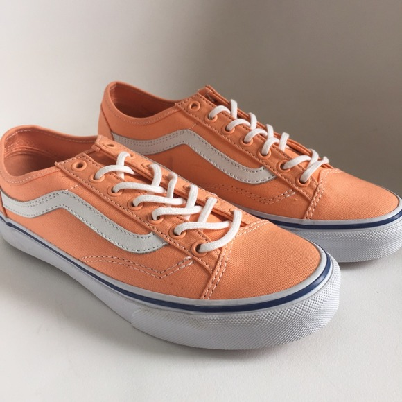 Vans Style 36 Slim in Cantaloupe Color
