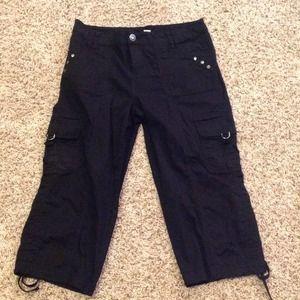 Style & Co Pants - Blk Capri