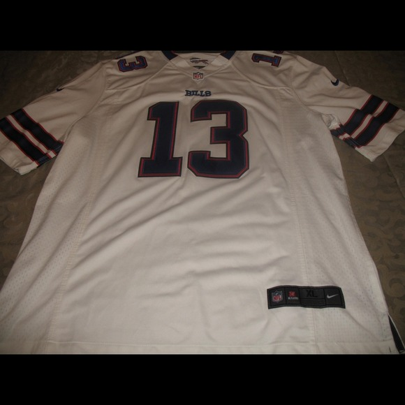 06a230046 Buffalo Bills Stevie Johnson Away Jersey
