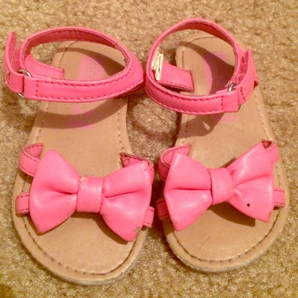 best service 4513a 15686 Pink baby toddler sandals. M 54b1cdc753bc2555e30c3264