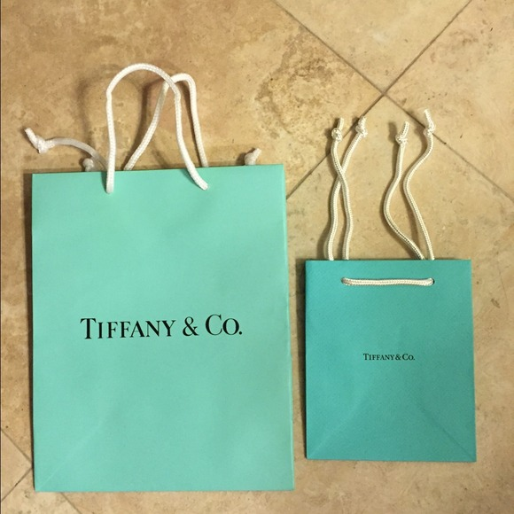 Tiffany & Co. - Tiffany shopping bags from Monica's closet on Poshmark
