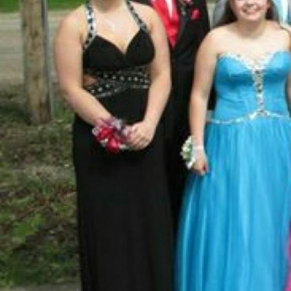 Dresses Long Black Slimming Prom Dress Poshmark