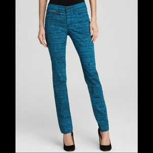 rag & bone/jean The Printed Leggings - Blue Tweed
