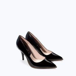Zara Zip Court Shoes