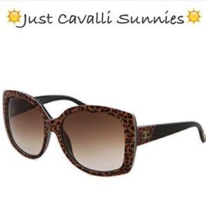 Just Cavalli Accessories - ☀️Stylish Just Cavalli Cheetah Sunglasses w/Case☀️