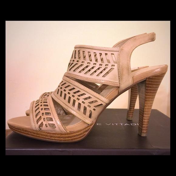 bc637366e847 Adrienne Vittadini heels - Nude  Style  AV-PRIM
