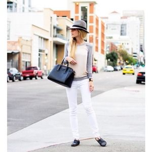 Rich & Skinny White Jeans