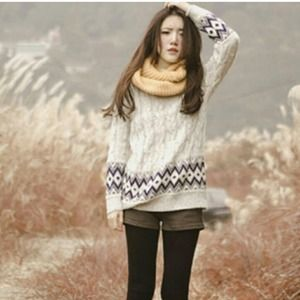 Sweaters - ✨Brand New Cable knit sweater pullover ✨