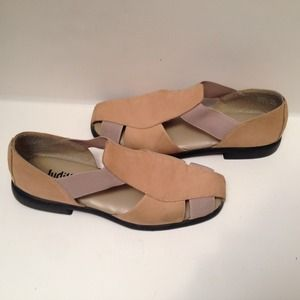 8a58620c33671d Judith Shoes - Judith Rosemary Stone Tan Suede Sandals 7 1 2