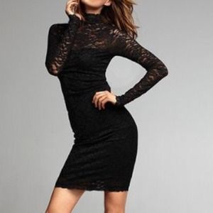Dresses & Skirts - Victoria's Secret open back lace dress