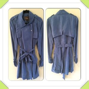 Cole Haan drape trench coat