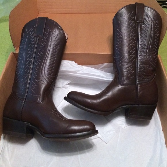 393fd283681e rancho loco Shoes   Brown Cowboy Boots Sz 7   Poshmark