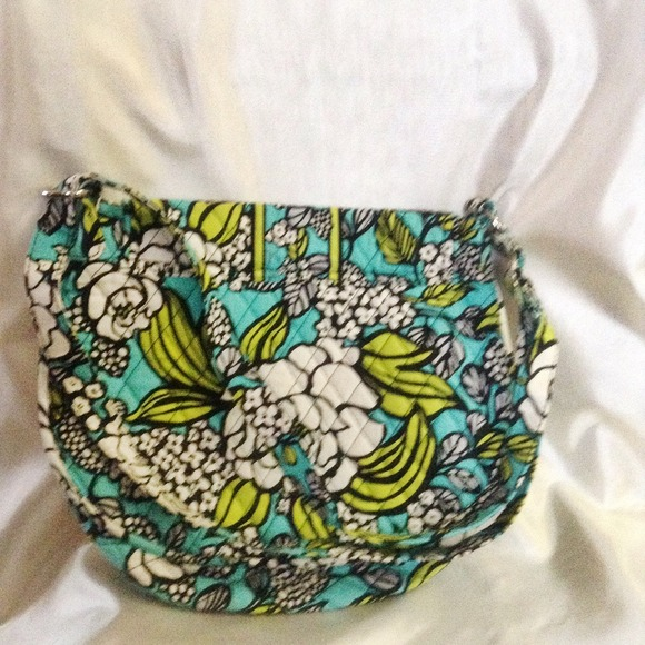 Vera Bradley Bags - Island Blooms Saddle Up Cross Body Hipster NWOT