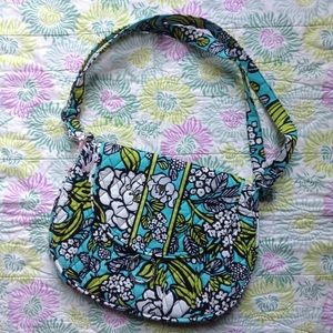 Vera Bradley Handbags - Island Blooms Saddle Up Cross Body Hipster NWOT