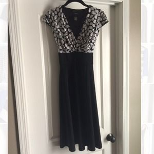 Dresses & Skirts - SOLD. Black and white dress