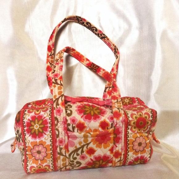 Vera Bradley Bags - Vera Bradley Folkloric Small Barrel Bag NWOT