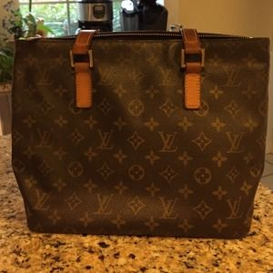 AUTHENTIC Louis Vuitton Cabas Piano Handbag