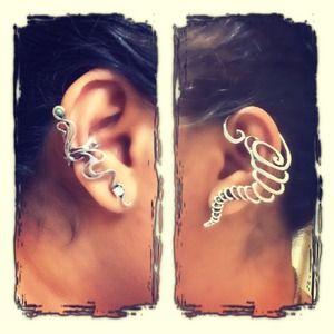 Jewelry - Ear cuff earrings left ear