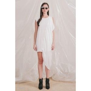 Cameo Draped Dress