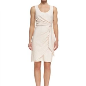 Catherine Malandrino faux wrap dress