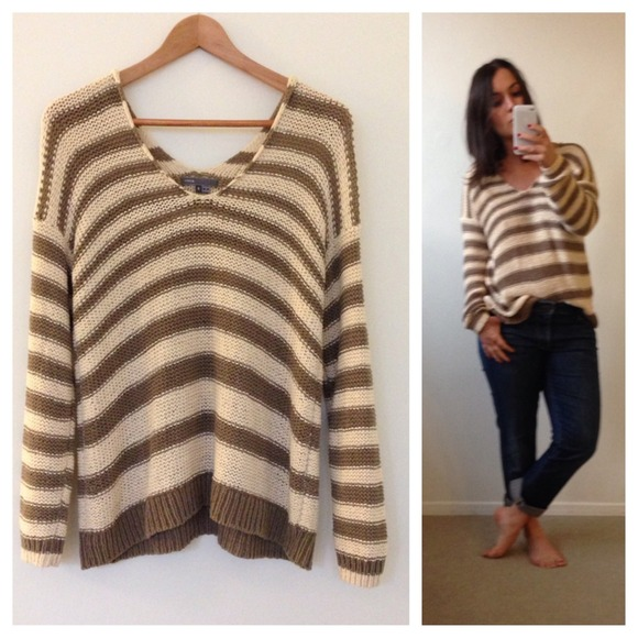 Striped Vince Sweater