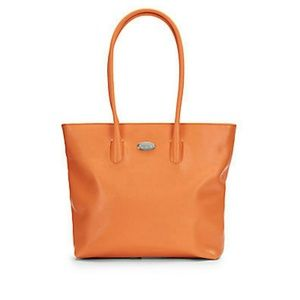 FURLA St. Tropez Saffiano Leather Tote Bag Purse