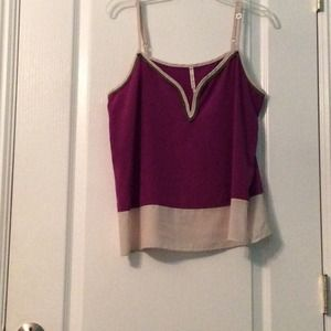Cute color block top!