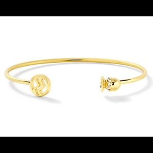 aquarius zodiac bangle