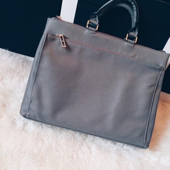 15a20219221d Zara Grey Office City Bag