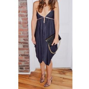 Foley + Corinna Silk Jersey Party Dress
