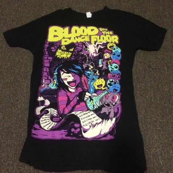 Blood On The Dance Floor Band Shirt