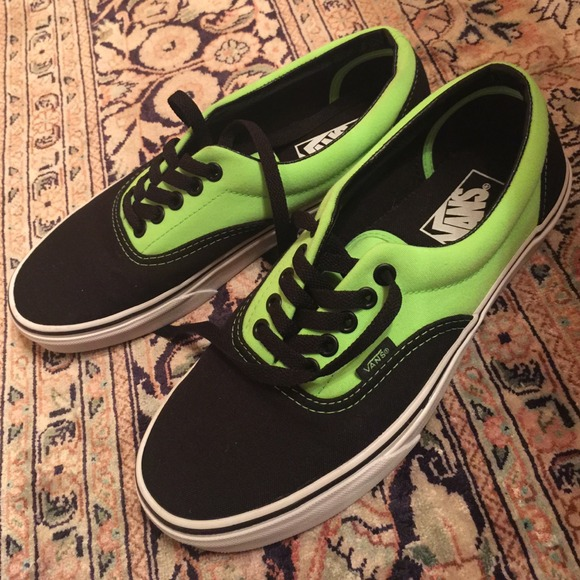 Highlighter Vans Shoes