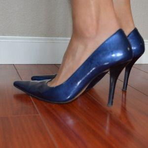 Nine West Shoes - Nine West Navy Blue pointed toe pumps 7c16e009b