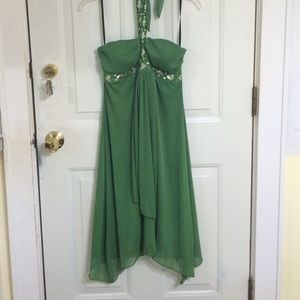 A. Byer  Dresses & Skirts - A. Byer large green dress