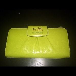 Coach Madison Slim Envelope Wallet