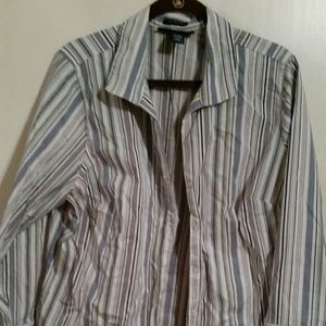 Lane Bryant striped blouse