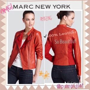 🎉2xHOST PICK! 🎉MARC NEW YORK LEATHER JACKET ✨