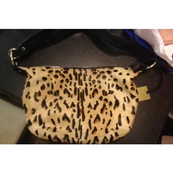 263a93ed3f02 NWT Furla cheetah purse NWT
