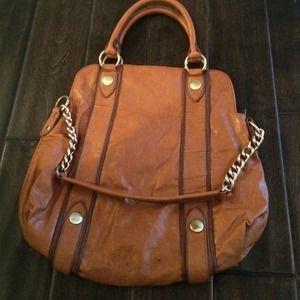 Melie Bianco Cognac Handbag
