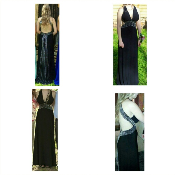 Black Cache Formal Prom Gown