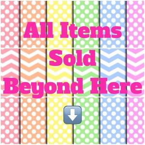 All Items Sold Beyond This Point