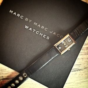 Marc by Marc Jacobs Accessories - ‼️reduced‼️Marc by MJ Black Wrist Watch