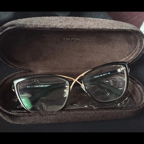 4ec157e0edd Tom Ford Crossover Cat-Eye Optical Frame
