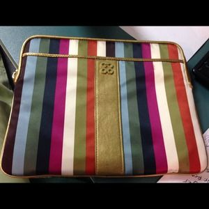 Coach Heritage Stripe iPad Case Sleeve