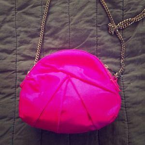 Kooba Handbags - PROM! Fuchsia Kooba Lexie silk formal bag!
